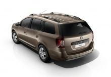 Dacia Logan MCV SCe 75 (seit 2016) Heck + links
