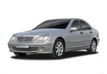 Mercedes-Benz C 240 4Matic (2004-2005) Front + links