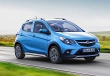 Opel Karl 1.0 Easytronic (seit 2015) Front + rechts