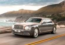 Bentley Mulsanne (seit 2016) Front + links