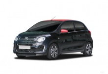 Citroen C1 VTi 68 (seit 2014) Front + links