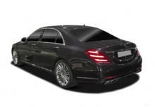 Mercedes-Benz S 63 AMG L 4Matic+ 9G-TRONIC (2017-2017) Heck + links