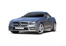 Mercedes-Benz SLK 350 BlueEFFICIENCY 7G-TRONIC (2011-2016) Front + links