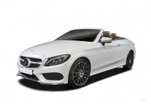 Mercedes-Benz C 200 Cabrio 9G-TRONIC (seit 2016) Front + links