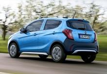 Opel Karl 1.0 Easytronic (seit 2015) Heck + links