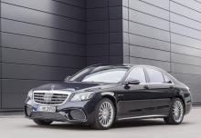 Mercedes-Benz S 400 d 4Matic 9G-TRONIC (seit 2017) Front + links