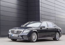 Mercedes-Benz S 560 4Matic 9G-TRONIC (seit 2017) Front + links