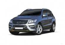 Mercedes-Benz ML 350 4MATIC BlueEFFICIENCY 7G-TRONIC (2011-2014) Front + links