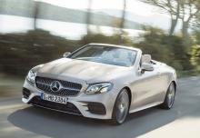 Mercedes-Benz E 220 d Cabrio 9G-TRONIC (seit 2017) Front + links
