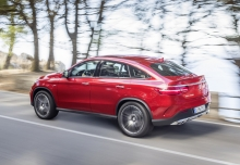 Mercedes-Benz AMG GLE 43 Coupe 4M 9G-TRONIC (seit 2016) Heck + links