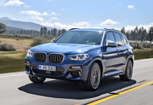 BMW X3 M40i (2017-2017) Front + links