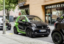 Smart smart fortwo coupe electric drive (seit 2017) Front + rechts
