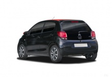 Citroen C1 VTi 68 (seit 2014) Heck + links