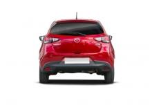 Mazda 2 SKYACTIVE-G 75 (seit 2014) Heck