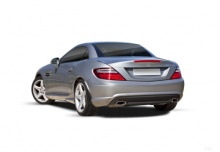 Mercedes-Benz SLK 250 d 9G-TRONIC (2015-2015) Heck + links