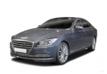 Hyundai Genesis Sportlimousine 3.8 V6 GDI (2014-2014) Front + links