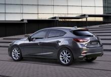 Mazda 3 SKYACTIV-G 100 (2016-2016) Heck + links