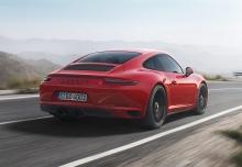 Porsche 911 Carrera GTS (2017-2017) Heck + rechts