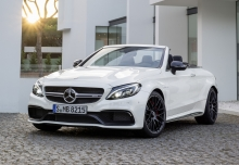 Mercedes-Benz AMG C 63 Cabrio AMG Speedshift 7G-MCT (seit 2016) Front + links