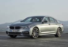 BMW 520d (seit 2016) Front + links