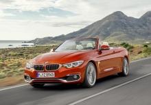 BMW 435d Cabrio xDrive Aut. (seit 2017) Front + links