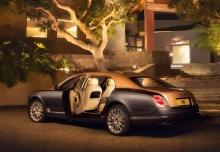 Bentley Mulsanne (seit 2016) Heck + links