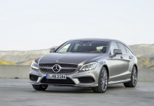 Mercedes-Benz CLS Shooting Brake 220 d 9G-TRONIC (2016-2016) Front + links