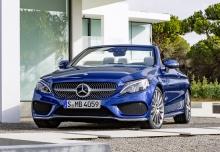 Mercedes-Benz C 200 Cabrio (seit 2016) Front + links