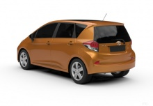 Toyota Verso S 1.4 D-4D (2014-2015) Heck + links