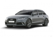 Audi RS6 Avant (2015-2015) Front + links