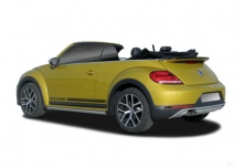 VW The Beetle Cabriolet 1.2 TSI BlueMotion Technology (2016-2016) Heck + links