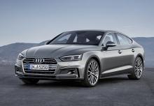 Audi A5 Sportback 2.0 TFSI S tronic (seit 2016) Front + links