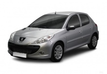 Peugeot 206+ 75 (2010-2013) Front + links
