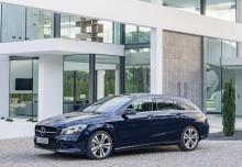 Mercedes-Benz CLA Shooting Brake 250 (seit 2016) Front + links