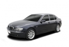 BMW 745d (2005-2005, E65) Front + links