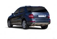 Mercedes-Benz ML 300 CDI 4Matic 7G-TRONIC DPF (2010-2011) Heck + links