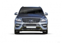 Mercedes-Benz ML 350 4MATIC BlueEFFICIENCY 7G-TRONIC (2011-2014) Front
