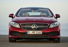 Mercedes-Benz E 220 d Coupe 9G-TRONIC (seit 2016) Front