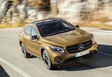Mercedes-Benz GLA 180 (seit 2017) Front + rechts