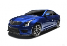 Cadillac ATS-V Coupe (seit 2015) Front + links