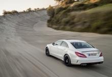 Mercedes-Benz CLS 63 AMG AMG SPEEDSHIFT MCT (2014-2014) Heck + links