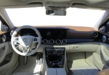 Mercedes-Benz E 200 9G-TRONIC (seit 2016) Armaturenbrett