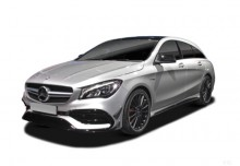 Mercedes-Benz AMG CLA 45 4Matic Shooting Brake AMG Sp.sh. 7G-DCT (2017-2017) Front + links