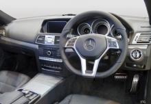 Mercedes-Benz E 250 Coupe 7G-TRONIC (2013-2013) Armaturenbrett