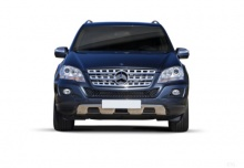 Mercedes-Benz ML 450 CDI 4Matic 7G-TRONIC DPF (2010-2011) Front