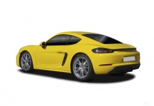 Porsche 718 Cayman (2016-2016) Heck + links