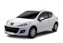 Peugeot 207 70 HDi FAP (2010-2011) Front + links