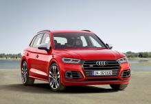 Audi SQ5 3.0 TFSI quattro tiptronic (2017-2017) Front + rechts
