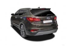 Hyundai Santa Fe blue 2.0 CRDI 2WD (seit 2015) Heck + links