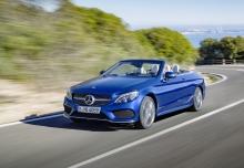 Mercedes-Benz C 200 Cabrio 9G-TRONIC (seit 2016) Front + links